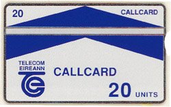Galway 20 Unit Card