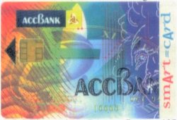 ACC Bank Smart Card Front Image